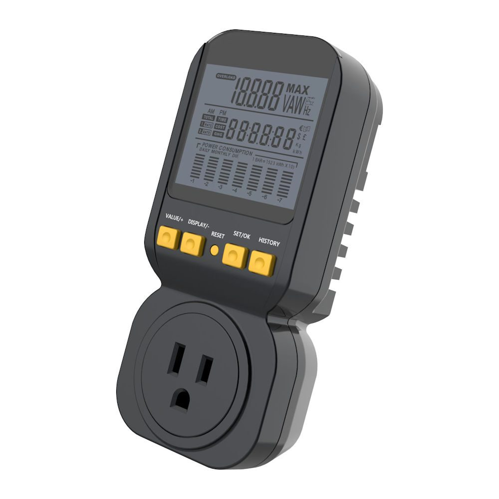 SP-PM120 Portable Digital Energy Monitor Meter | Spartan Power