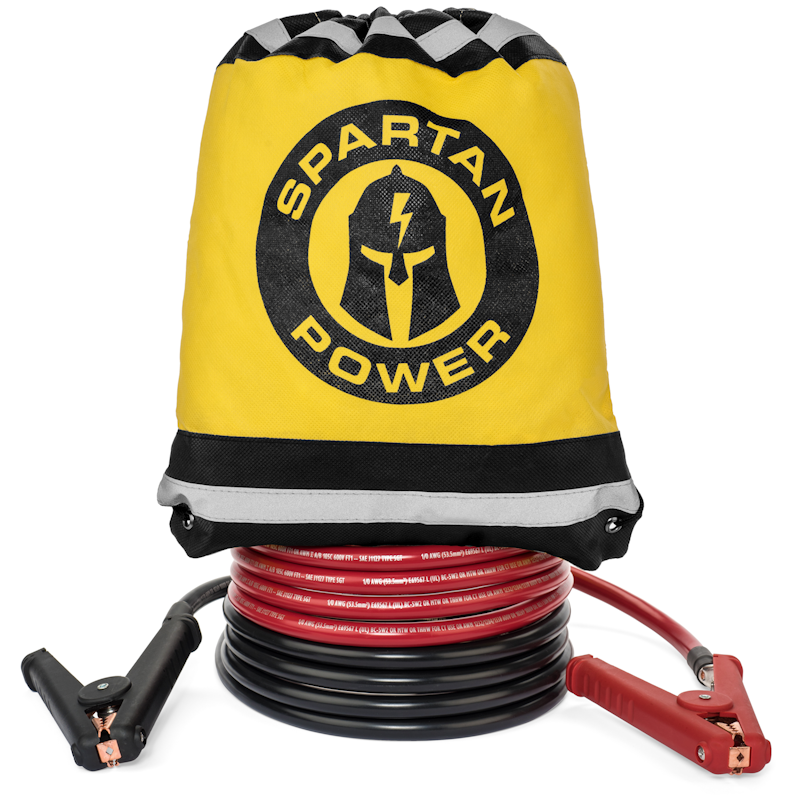 Spartan Power Truck Jumper Cables