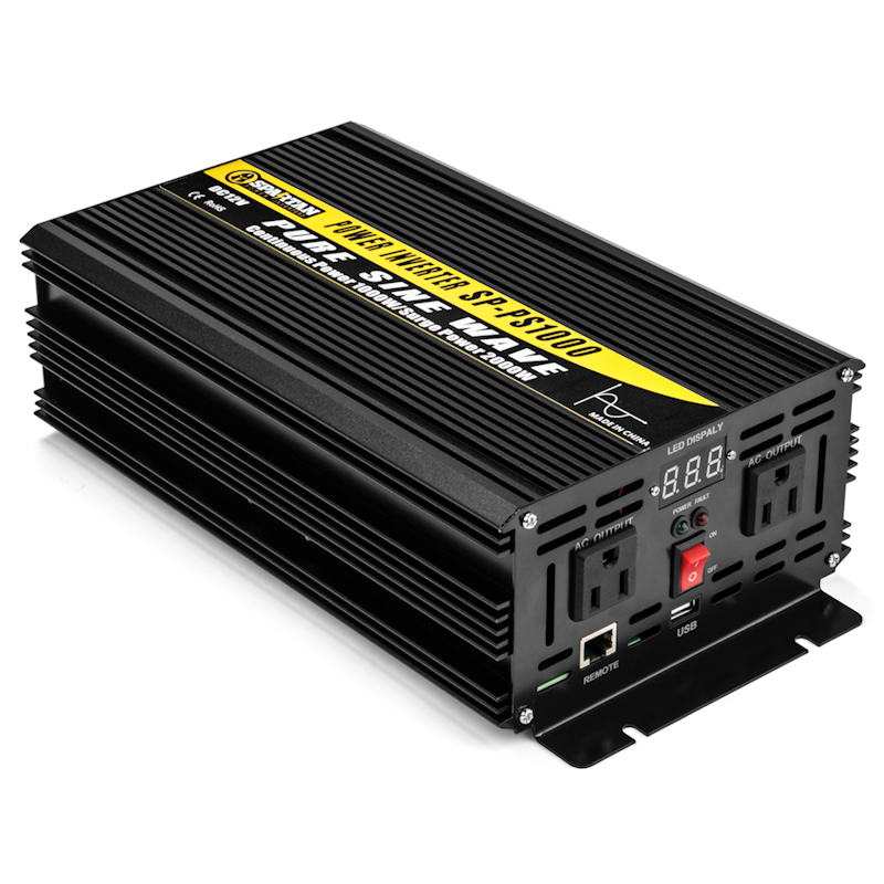 Spartan Power 1000 Watt Pure Sine Wave Inverter