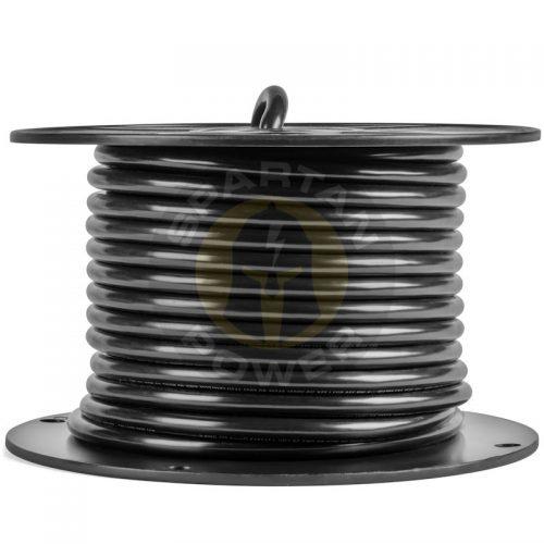 Spartan Power Bulk Black Battery Side